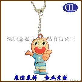 供应厂家直销金属卡通小动物形状钥匙扣 节日庆典活动促销小礼品