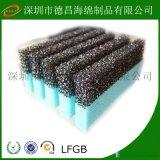 污水過濾棉 35PPI 活性炭過濾棉廠家 水藻過濾海綿  空氣過濾棉  開孔過濾棉
