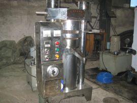大型香油机300型一次榨30斤40斤芝麻全自动香油机芝麻液压榨油机