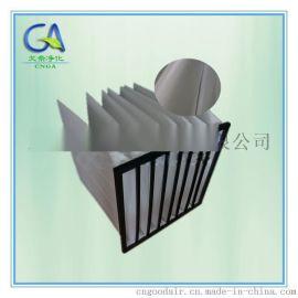 可反复清洗白色金属框袋式过滤器使用说明 F5效率