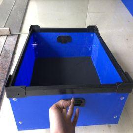 中山中空板厂家加工三乡零配件分格箱子防静电收纳箱