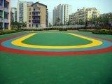 運動球場地坪—矽PU塑膠跑道