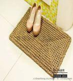 天然水草编织地垫手工编织门垫环保无异味防滑垫脚踏垫门厅垫草垫