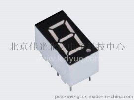 0.36英寸单一1位led数码管共阴共阳黄绿光3611AH/BHRSG