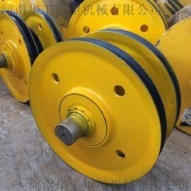 20t滑轮组 滑轮槽底500 滑轮外径565 高品质轧制滑轮组 龙门吊滑轮组 起重机配件