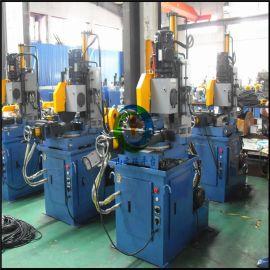 广东佛山二手350钢管全自动切管机二手波纹管切管机 气动伺服自动送料切管机