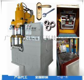 铝材挤压机, 四柱双动油压机, 100吨油压机