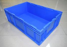 苏州滏瑞厂家**全新料标准大容量储物箱批发HP6C(650-435-210)
