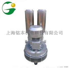 优化升级2RB940N-7BH47环形高压鼓风机 铝合金2RB940N-7BH47气环式真空泵