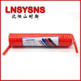 弹簧管 螺旋气管PU6*4/10*6.5 伸缩软管