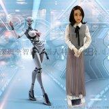 國內新款可鞠躬行禮的高智慧迎賓仿真機器人