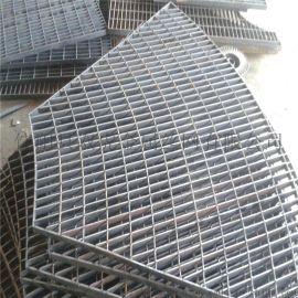 广西电厂平台钢格板 异型沟盖板 镀锌钢格板