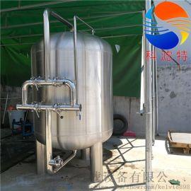 定做不锈钢机械过滤器,污水中水处理回用过滤器