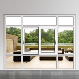 80系列铝合金隔音隔热推拉窗