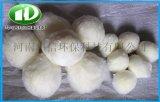 厂家直销纤维球印染水高标水高油量污水过滤纤维球滤料