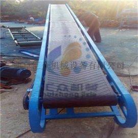 江津市自动升降皮带机  1000宽爬坡碎矿石皮带输送机 固定粮食输送机价格