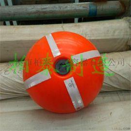 夜间荧光警示浮球塑料浮球厂家