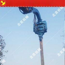 挖掘机打桩锤改装厂家 挖掘机液压打桩机生产厂家