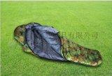厂家直销防水牛津布面料耐用木乃伊式户外羽绒睡袋 冬季睡袋