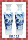 2.8米陶瓷大花瓶,客廳擺件大花瓶,優質手繪陶瓷大花瓶,青花大花瓶
