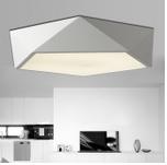 亚克力吸顶灯 现代简约几何多面体创意led贴片 客厅卧室书房灯具