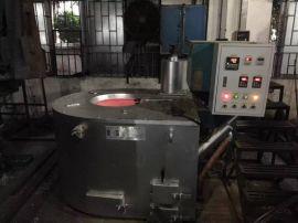 中山350公斤节能熔铝炉/颗粒炉/机边保温炉