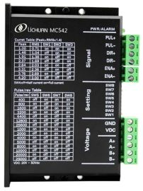 MC542力川两相57步进驱动器DC50V/4.2A数字式适配57步进电机
