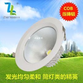 Zenlea珍领 ZL-TD1030F 30W筒灯 COB大瓦数筒灯 大型场所装修筒灯 COB高端孔灯
