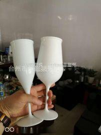 PET杯子模具 注塑高脚杯模具  PC红酒杯模具