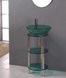 玻璃台盆(B-030)