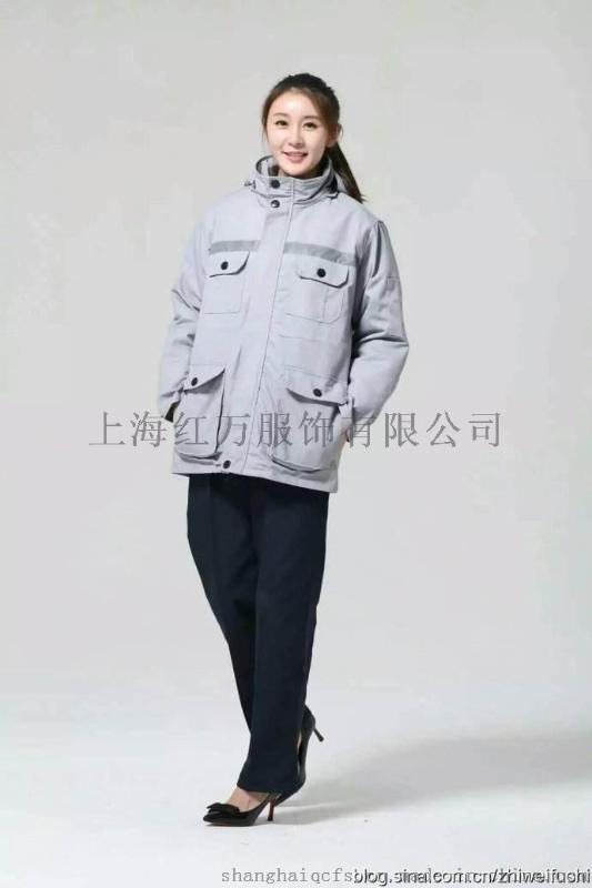 上海紅萬定製工作服 棉服 訂做羽絨服