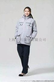 上海红万定制工作服 棉服 订做羽绒服