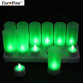 深圳厂家可充电LED电子蜡烛灯精美家居装饰用品支持OEM