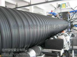 钢带增强螺旋波纹管河北供应厂家,国标钢带管