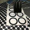 透明硅胶脚垫 自粘防滑胶垫 密封硅胶垫圈