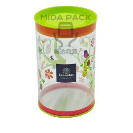 PET圆罐 胶罐 食品包装罐