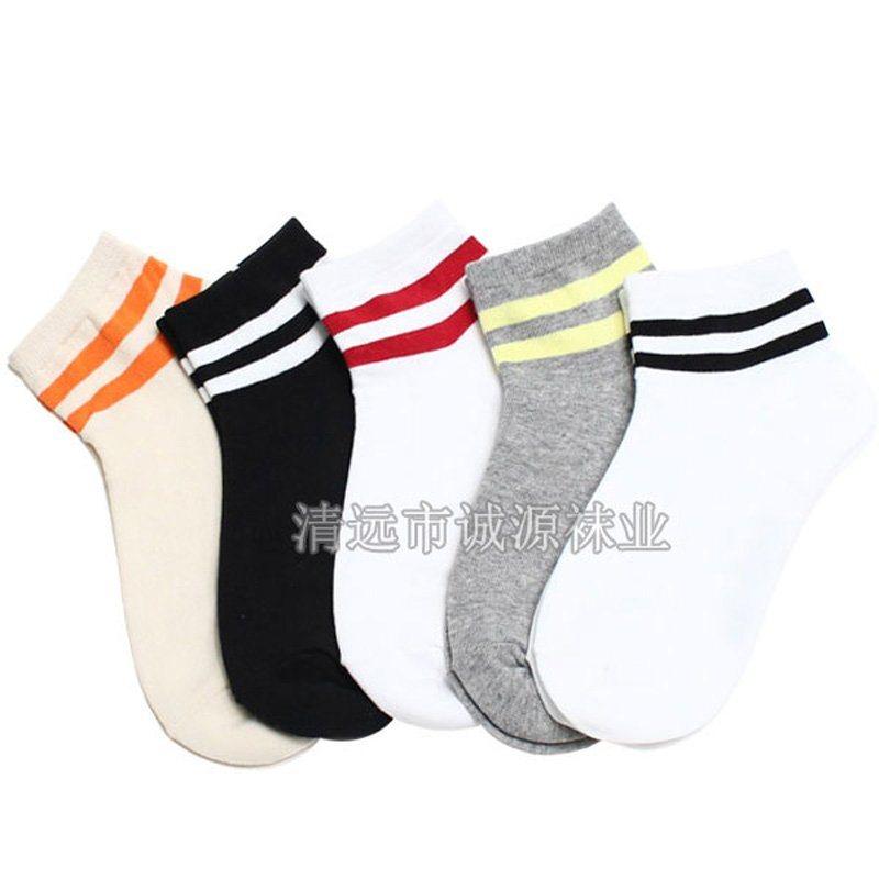 广东佛山袜子厂家贴牌学生袜 校服袜 白色学生袜