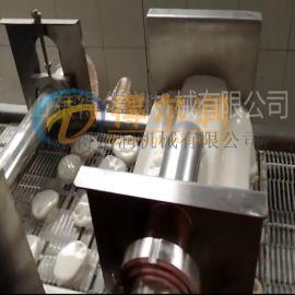D锅巴肉挂糊机优势 自动食品挂糊裹浆机 挂糊油炸线