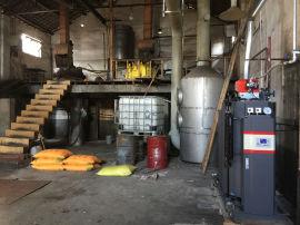 安吉天荒坪镇新平胶水厂——反应釜加温用免检燃气冷凝蒸汽锅炉