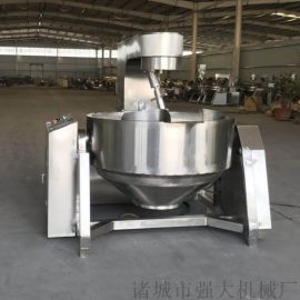 强大机械专业制造全自动夹层锅