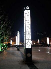 供应湖北十堰小区园林特色广场景观灯4米LED