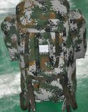 背囊01B寒区生活携行具防水迷彩金属支架包