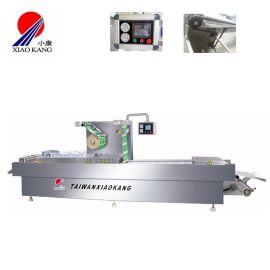 拉伸膜真空包装机,供应全自动连续拉伸真空包装机