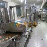 DR小銀魚裹漿油炸生產線 炸魚機 自動炸魚設備
