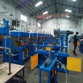 中山风扇网罩成套焊接设备 工业风扇外环机 内环机