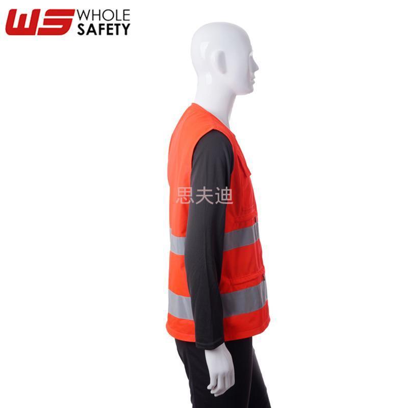 反光背心安全背心 高可视荧光马夹 定制交通反光马甲 背心