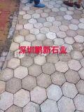 深圳火山岩地鋪石-深圳芝麻黑光面花崗岩