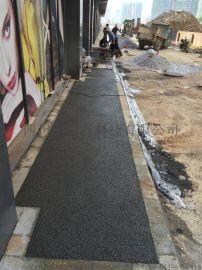 泸州市彩色透水混凝土 混凝土压模地坪 压印地坪