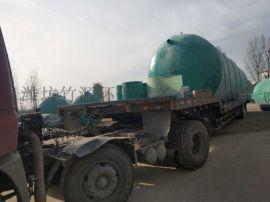 河南养猪场玻璃钢污水处理设备