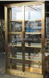 时尚高端不锈钢酒柜 镜面红酒酒柜